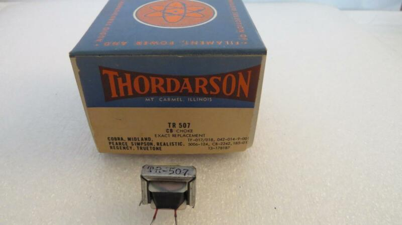 Thordarson TR507 CB Choke Used in Cobra Midland Pearce Simpson Realistic Regency