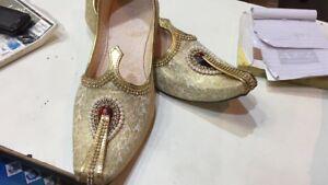 Indian men's women's punjabi jutti khusse shoes mauje all sizes