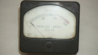 Hickok 69qx Tocco Voltage Meter