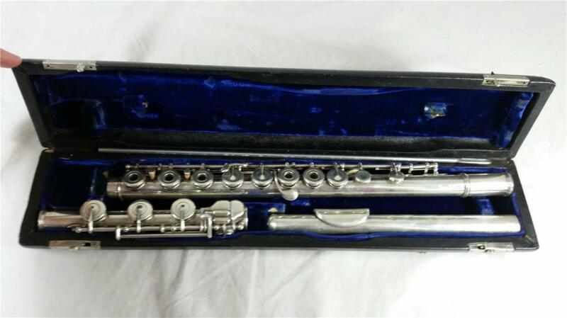 Vintage Armstrong Heritage Elkhart Flute with Case