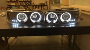 2006 GMC Sierra headlights