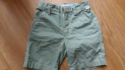 Il Gufo, Green & White striped shorts, size 3 years used vg condition