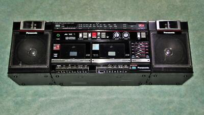Retro Boom Box (RETRO PANASONIC BOOM BOX 80's MODEL RX-CW30 AM/FM DUAL CASSETTE)