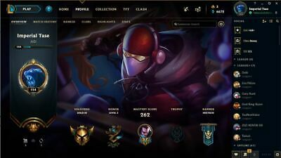 League of Legends Gold 3 account with email access