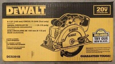 DEWALT DCS391B 20V MAX Li-Ion 6-1/2 in. Circular Saw (Bare Tool) - BRAND NEW !!!