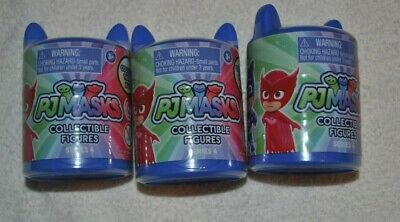 3 PJ Masks Collectible Series 4 Figure Mystery Pack Blind Bag Toy Disney Junior