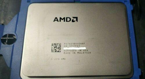 QTY 1x AMD EPYC 7601 2.2GHz 32-Cores CPU PS7601BDVIHAF SP3