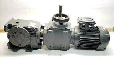 Lafert 12 Hp Ac Electric Motor Af71s4 W Flender Himmel Gear Reducer Variator
