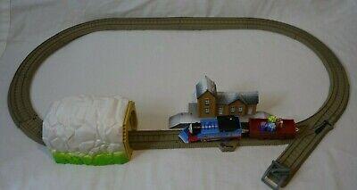 Thomas & Friends Thomas Holiday Time In Sodor Snow Plow Christmas Train Set RARE