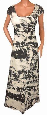 NV6 FUNFASH HEATHER GRAY BLACK COLOR SUBLIMATION LONG MAXI DRESS XS XSMALL 0 1 Sublimation Maxi Dress