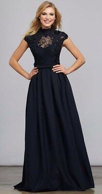 7504 MAC DUGGAL Dress Long GOWN Black size 10 SPECIAL OFFER SALE $698 for sale  Shipping to India