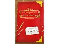 Harry Potter Fantastic Beasts and Where To Find Them 1st Ed