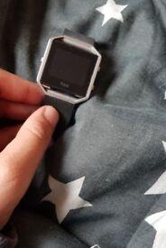 Large strap Black Fitbit Blaze going cheap