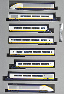 KATO 10-327 Eurostar International Limited Series 'eurostar' Basic 8-Car Set