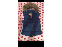 Jack wills blue body warmer