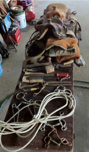 Various horse items