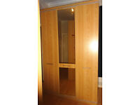 Treble and Double Flat Packed Wardrobes, Free to Uplift