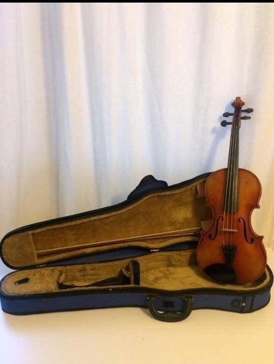 German HOPF 1973 4/4 Violin, Bow & Case