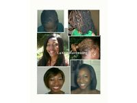 Afro and European Hairdresser. OFFERS!!! GET 20% off box braids.