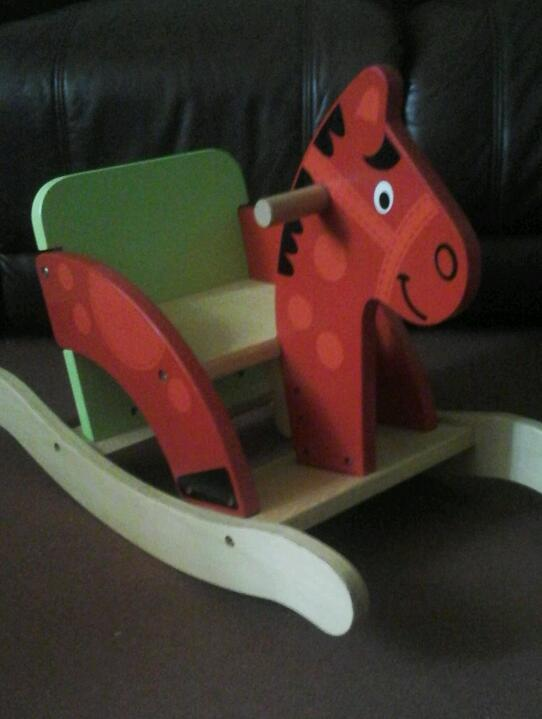 Early learning centre rocking horse