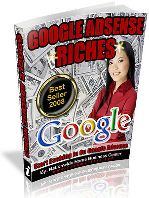 Google Adsense Riches Pdf Ebook Free Shipping Resale Rights