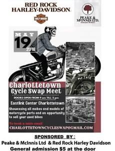 Charlottetown Cycle Swap Meet May 19 2018