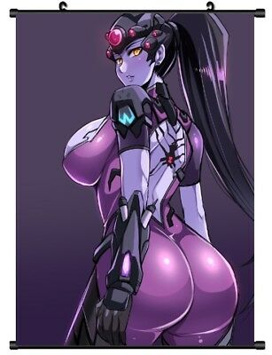 "Hot Anime Game Overwatch Widowmaker Home Decor Poster Wall Scroll 8""x12"" P243"