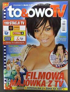 RIHANNA great mag.FRONT cover No17, Poland Iron Sky - europe, Polska - Zwroty są przyjmowane - europe, Polska