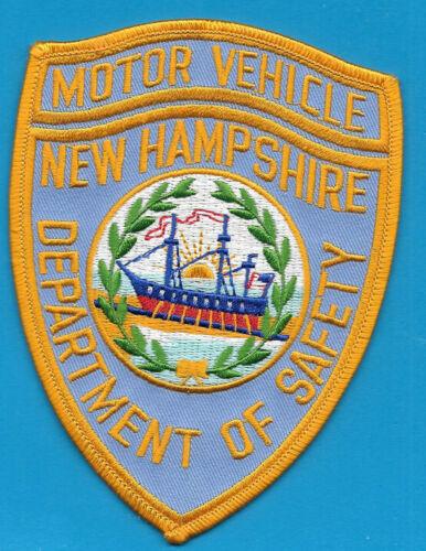 NEW HAMPSHIRE STATE POLICE NH DEPT MOTOR VEHICLE NHSP (FIRE) MV SCHOONER DPS