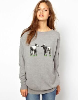 Cool BELLA FREUD X BARBOUR Lamb Wool Sweater Oversized SOLD OUT Bloggers Fav 10