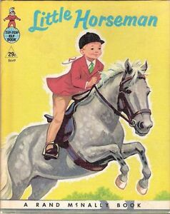 "Vintage Rand McNally Book "" Little Horseman"""