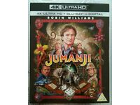 Jumanji 4K UHD + Blu ray + Digital