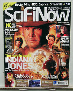 SciFiNow-British-Movie-Magazine-14-Indiana-Jones-BG-Caprica-Doctor-Who-L4753