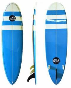 Surfboard - Hybrid pintail - Super Fun - 2+1 FCS Fins FREE Newcastle Area Preview