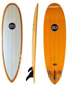 NEW Surfboard - Triple Stringer - PU blank - Tangarine tint NEW Bundall Gold Coast City Preview