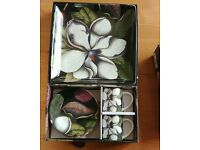 Biologica Magnolia Espresso & Trinket Tray sets