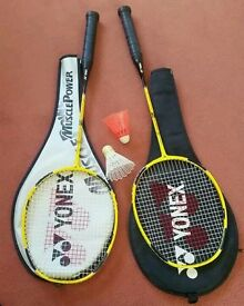 Yonex Isometric Z Badminton Rackets x 2