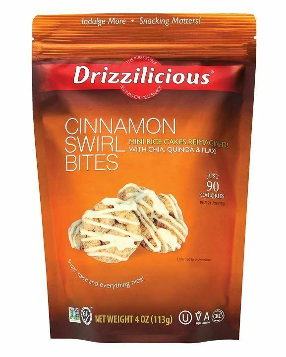 Drizzilicious Cinnamon Swirl Bites, 4 oz.