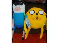 Finn & Jake soft toys