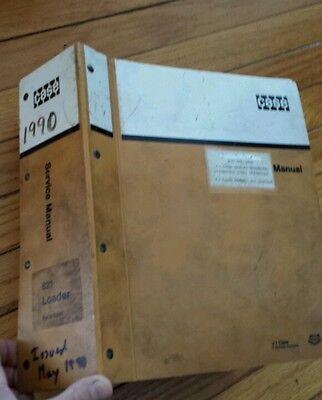 Case 621 Wheel Loader Shop Repair Service And Parts Manual