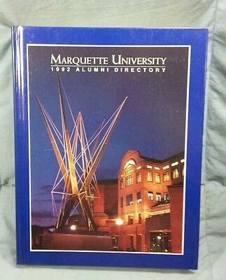 1992 Marquette University Milwaukee, WI  Alumni Directory  Marquette University Alumni