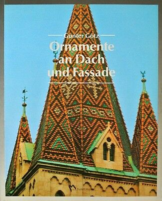 Dachdecker Fachbuch - ORNAMENTE AN DACH UND FASSADE - 95 Seiten / 177 Fotos