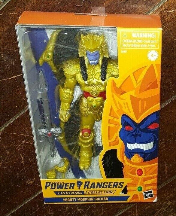 Goldar Lightning collection Mighty Morphin Power Rangers Neuf Scellé