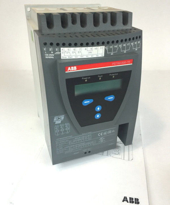 NEW ABB PST60-600-70 1SFA894006R7000 SOFTSTARTER MOTOR STARTER 60A 600V (*read)