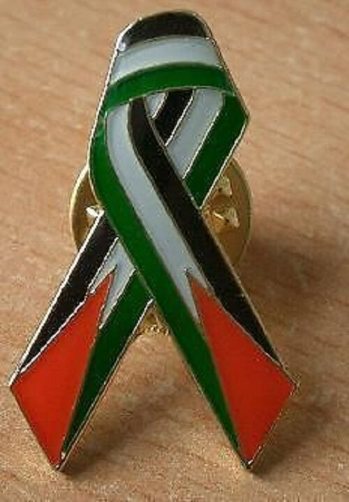 Palestine Free State Jerusalem Support Ribbon The Homeland