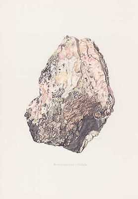 Rotnickelkies Gravel Chloanthite Cupro-Nickel half Richelsdorf Bebra