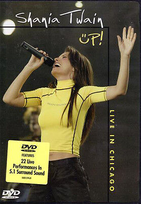 Shania Twain Up   Live In Chicago Full Concert Dvd  2003   Now W Free Gift