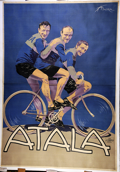 Atala - Original Vintage Bicycle Poster - Cycling - Italy (8800 USD)
