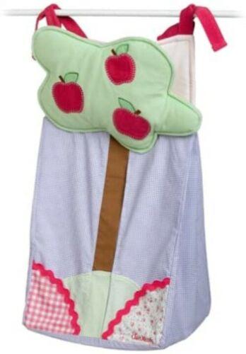 NEW Oshkosh Baby DIAPER STACKER ~ Apple Hill Pink Purple Green