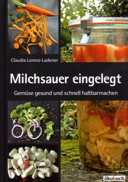 Milchsauer eingelegt - Gemüse konservieren haltbarmachen Milchsäuregärung Vorrat